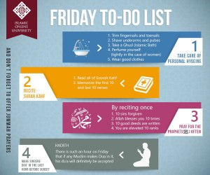 friday - to do list