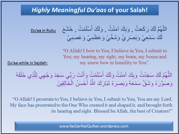 Try this, feel the difference! « YasSarNalQuR'aN