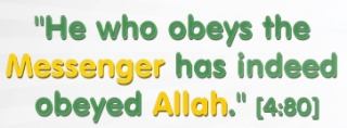 obey the messenger